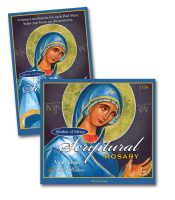 Mother of Mercy Scriptural Rosary CD and Booklet Combo